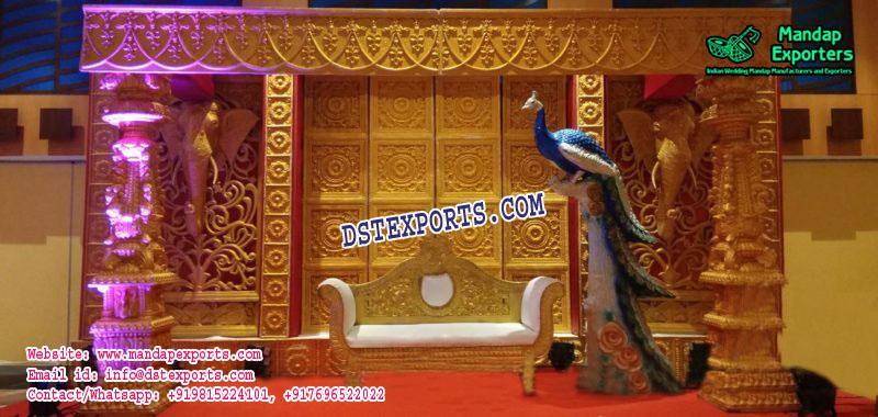 Best Sri Lankan Wedding Stage Decoration Mandap Exporters