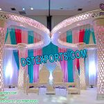 Dreamy Diamond Crystal Wedding Mandap