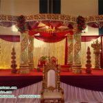 Charming Wedding Crystal Mandap