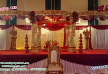 Charming Wedding Crystal Mandap
