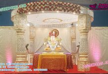 Conventional Indian Wedding Mandap Decoration