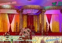 Exclusionary Wedding Mandap Set