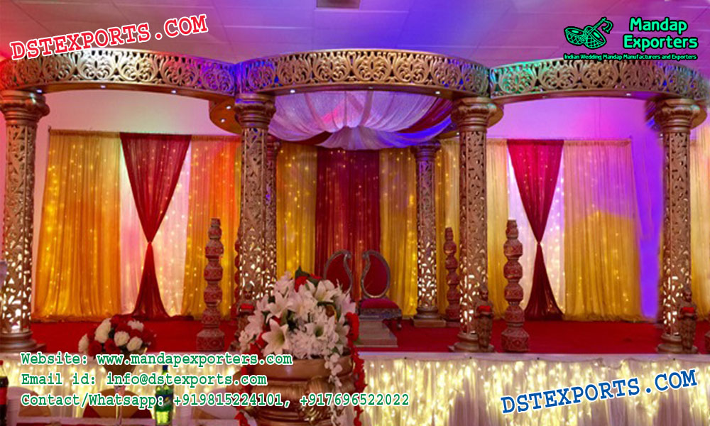 Exclusionary Wedding Mandap Set