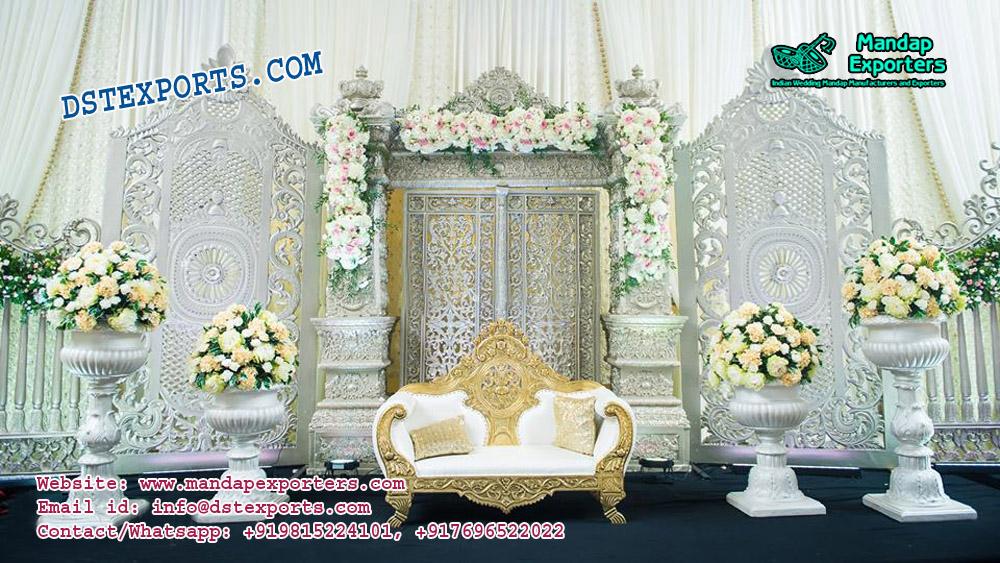 Exquisite Wedding Stage Decoration USA