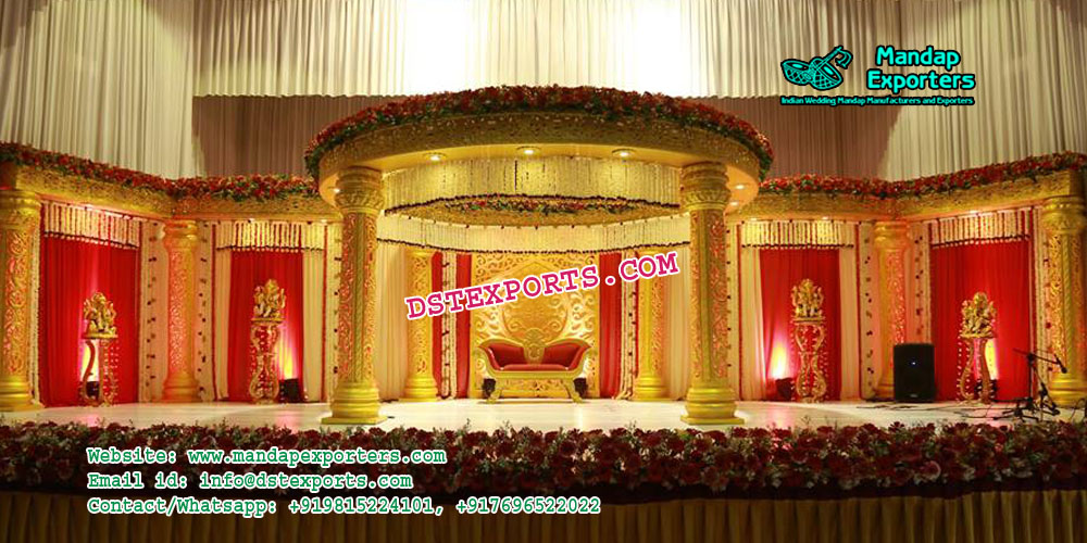 Glorious South Indian Marriage Mandap