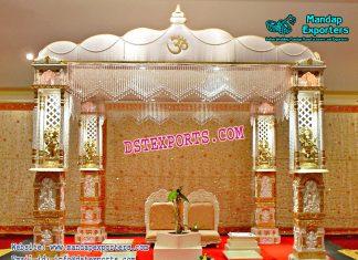 Hindu Wedding Ganesh Pillar Mandap