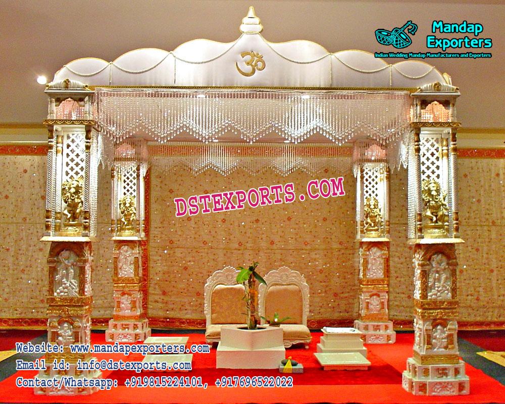 Hindu Wedding Ganesh Pillar Mandap Mandap Exporters