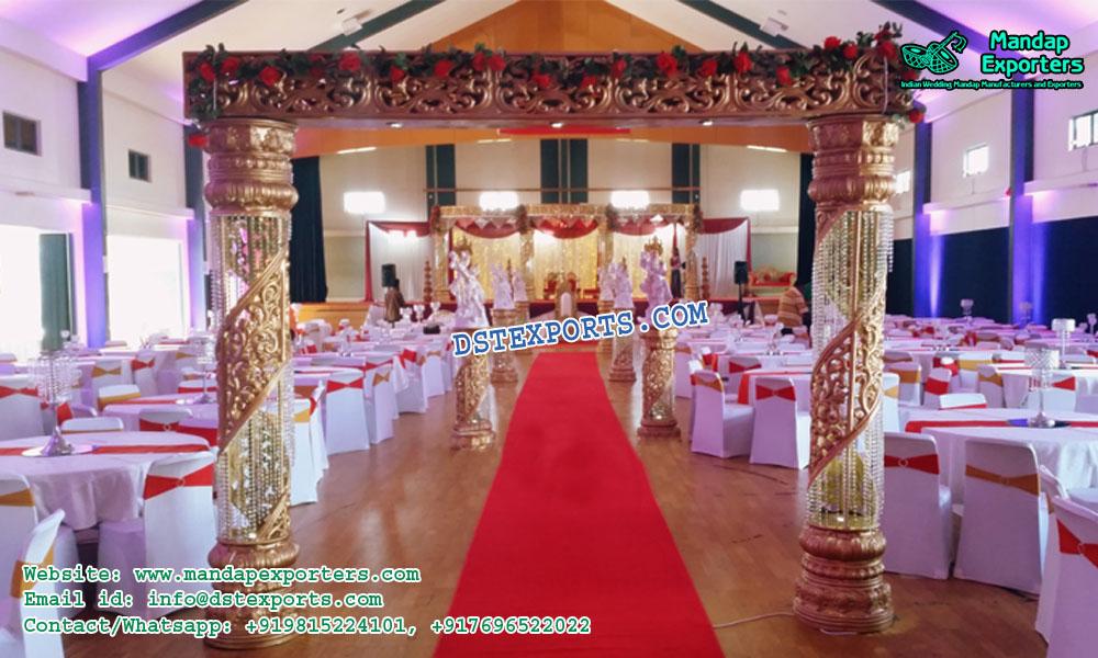 Imposing Designed Wedding Entrance Decor Mandap Exporters