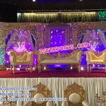 Impressive Dazzling Wedding Stage set