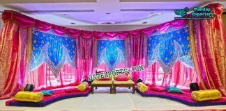Impressive Wedding Stage Backdrop Decor