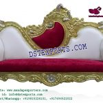 Indian Wedding Classy Golden Sofa