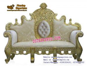 Indian Wedding Maharaja Style Sofa