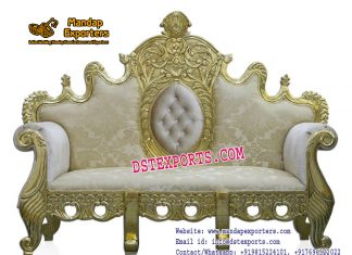 Indian Wedding Maharaja Style Sofa