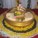 Krishna Statue For Wedding Entrance Decor