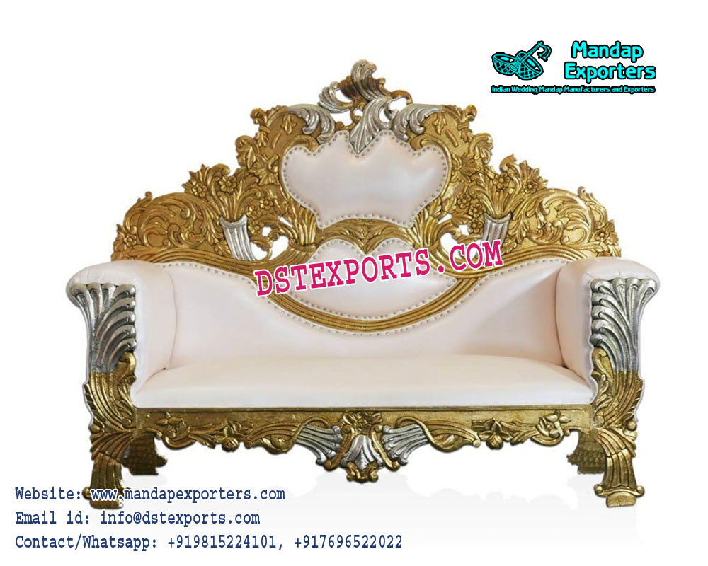 Luxurious Wedding stage love seater