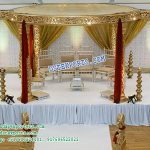 Melbournes Stylish Wedding Mandap Decor