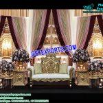 Nayab Muslim Wedding Jhronkha Stage