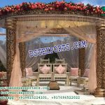 Outdoor Wedding Fiber Mandap Decoration