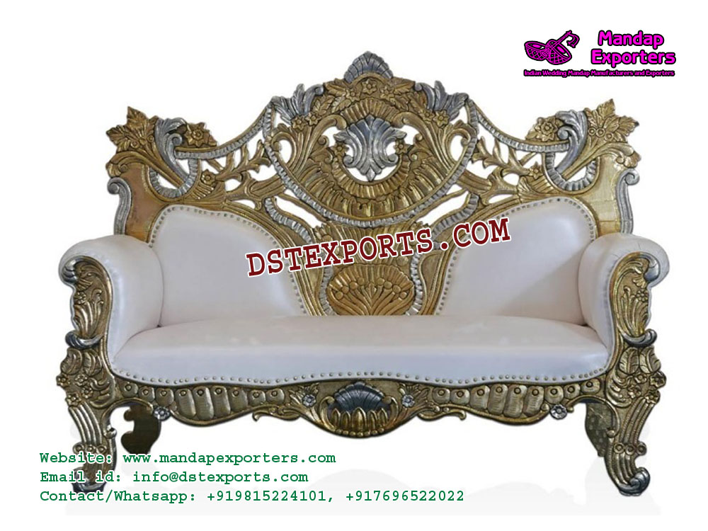 Sensational Royal Indian Wedding Sofa Furniture Mandap Exporters Bralicious Painted Fabric Chair Ideas Braliciousco