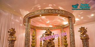 Sparkling Ganesha Wedding Mandap