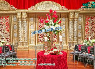 Splendid Indian Wedding Stage Decoration
