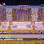 Splendid Reception Stage Decoration