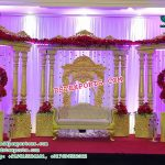 Stunning Asian Wedding Stage Set Decor