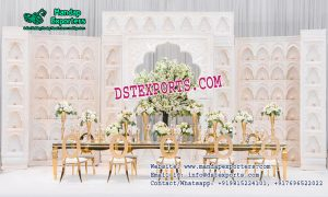 Stunning Wedding Backstage Candle Wall