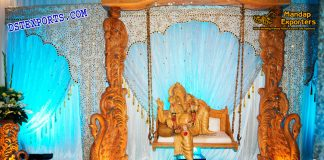 Wedding Entrance Decor Ganesha On Swing
