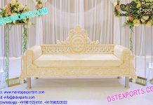 Asian Wedding White Magnify Sofa