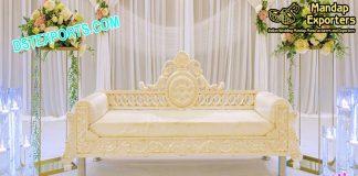 Asian Wedding White Magnify Sofa