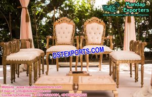 Designer Mandap Chairs for Sale