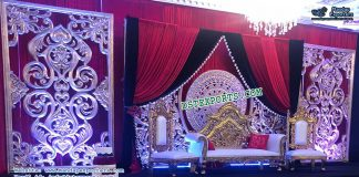 Appealing Marriage Reception Stage Decoration