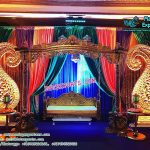 Asian Wedding Mehndi Stage Swing