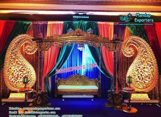 Asian Wedding Mehndi Stage Swing