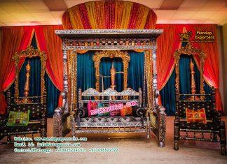 Attractive Gujarati Wedding Sangeet Decoration