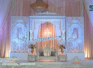 Australian Wedding Reception Stage Decor