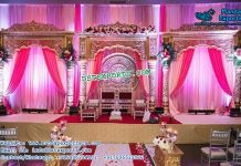 Awesome Bollywood Style Reception Stage Decor