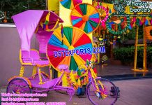 Desi Bridal Entry Rickshaw