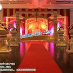 Elephant Theme Walkways With Ganesha Statues