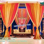 Exceptional Muslim Walima Stage Decoration