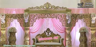 Exclusionary Wedding Stage Decoration