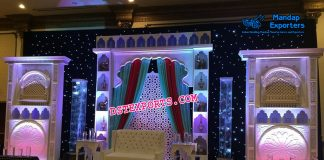 Exclusive Muslim Walima Stage Decoration
