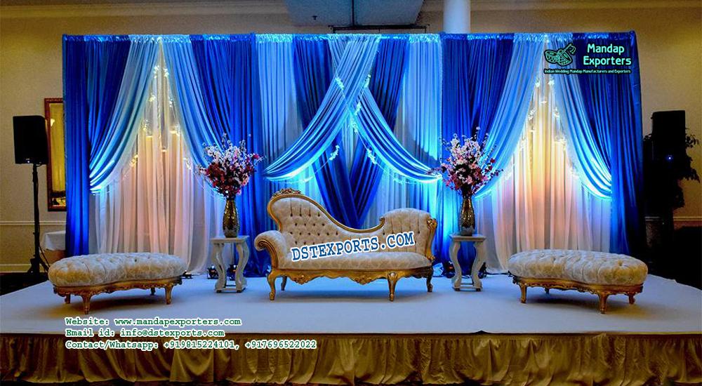 Fabulous French Wedding stage Sofa Set