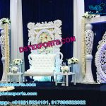 Modern Marriage Reception Stage Decor