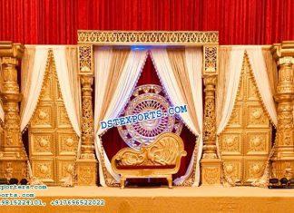 Glorious Dev pillar Wedding Stage Decor