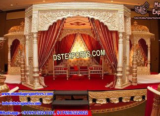 Traditional Haveli Style Wedding Mandap