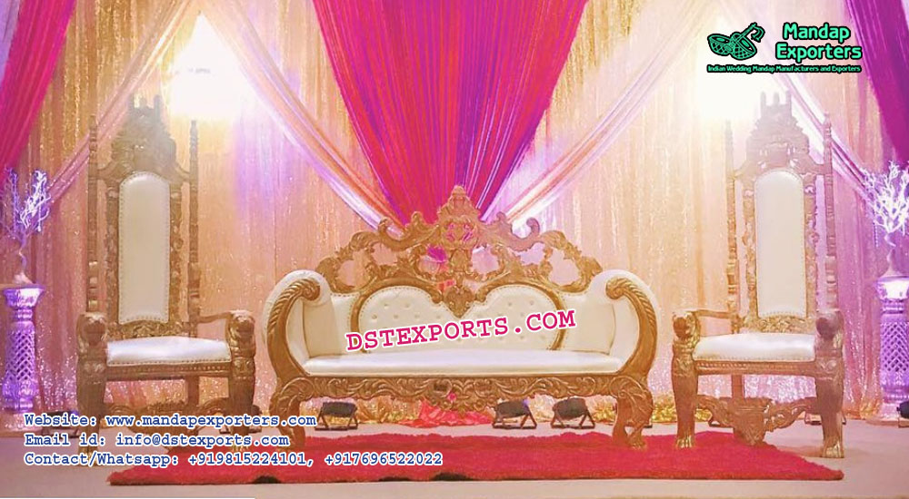 Grand Maharaja Wedding Sofa Set