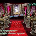 Grand Rajwada Wedding Fiber Stage
