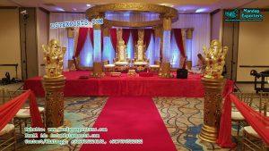 Indian Wedding Fiber Crystal Mandap